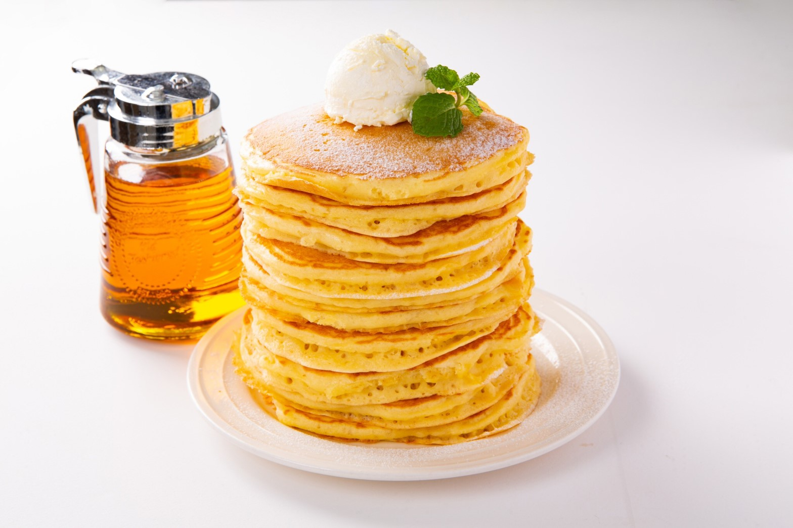 幸せの10段パンケーキ